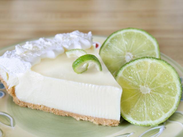 Smile: it's Key Lime Pie!
